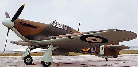 Fury mk ii Hawker Hurricane mk ii b